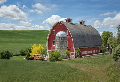 Idyllic farm setting in Eastern Washington