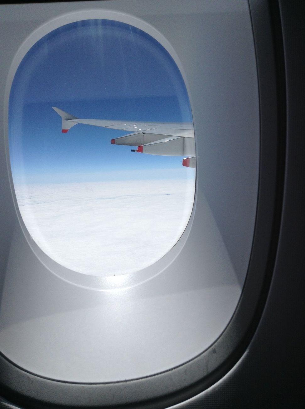 Over atlantic