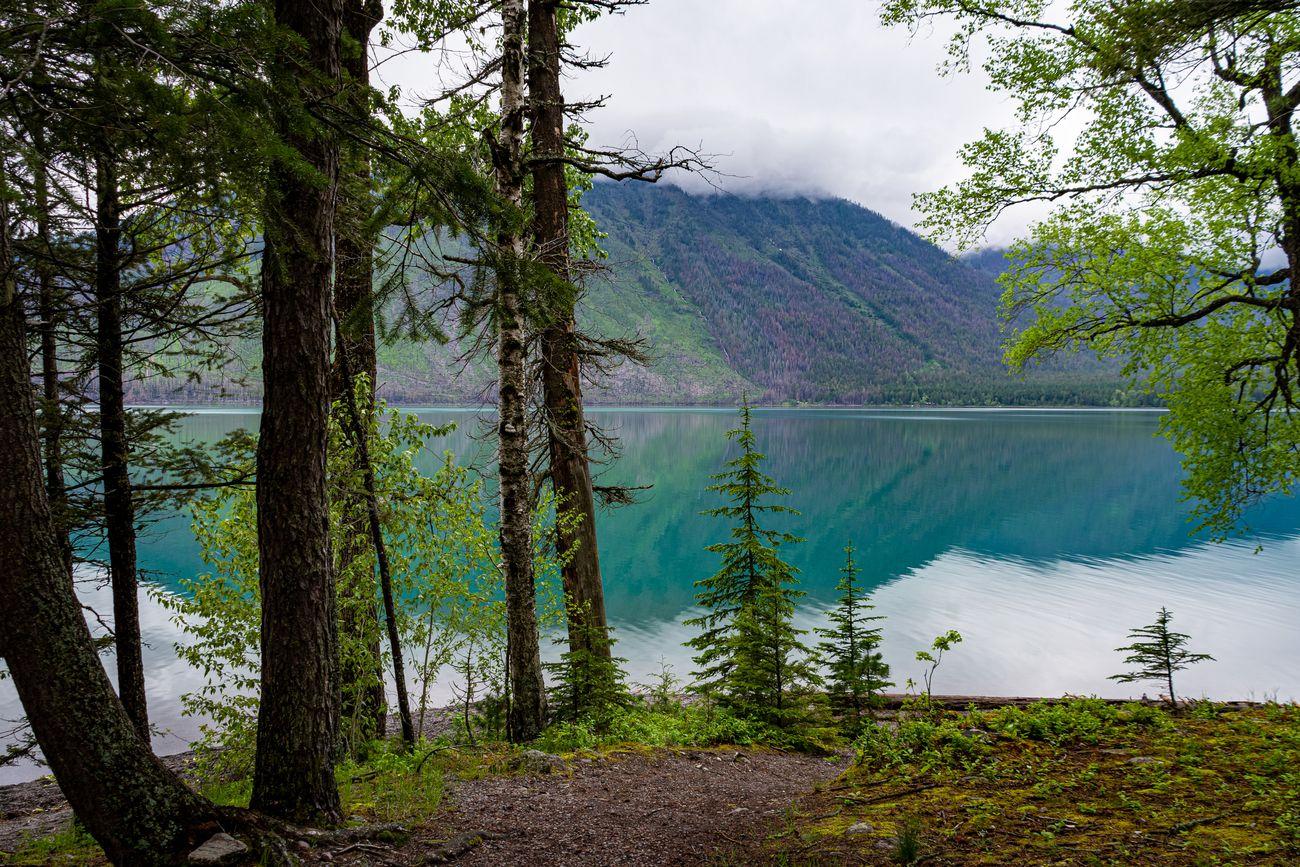 McDonald Lake in Glacier National Park