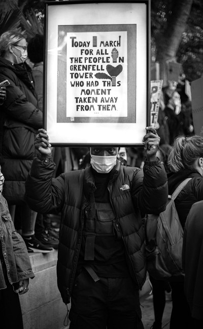 london black lives matter protest!