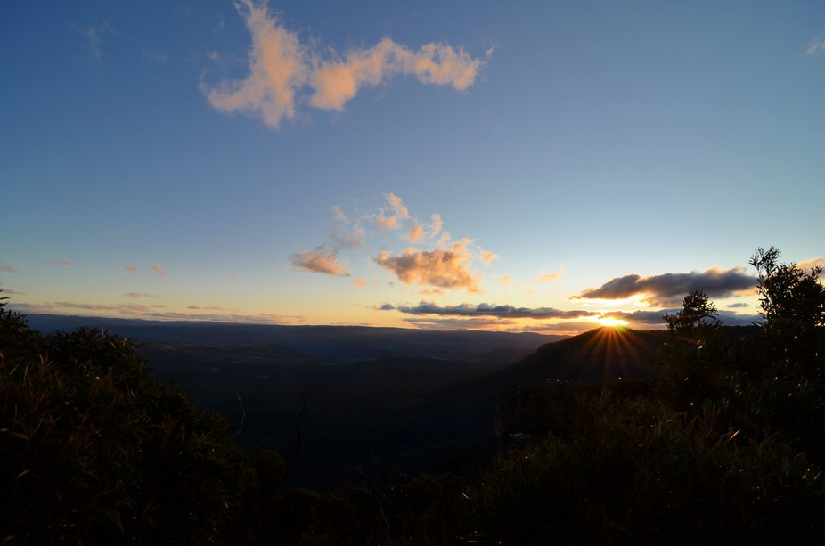 Megalong Valley Sunset