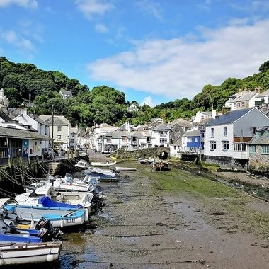 Fishing Harbour And Village -  Polperro (6), Cornwall, UK