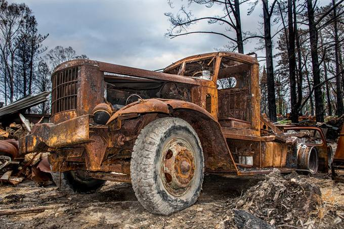 Highway to Hell Album - Bushfires Australia 2020
