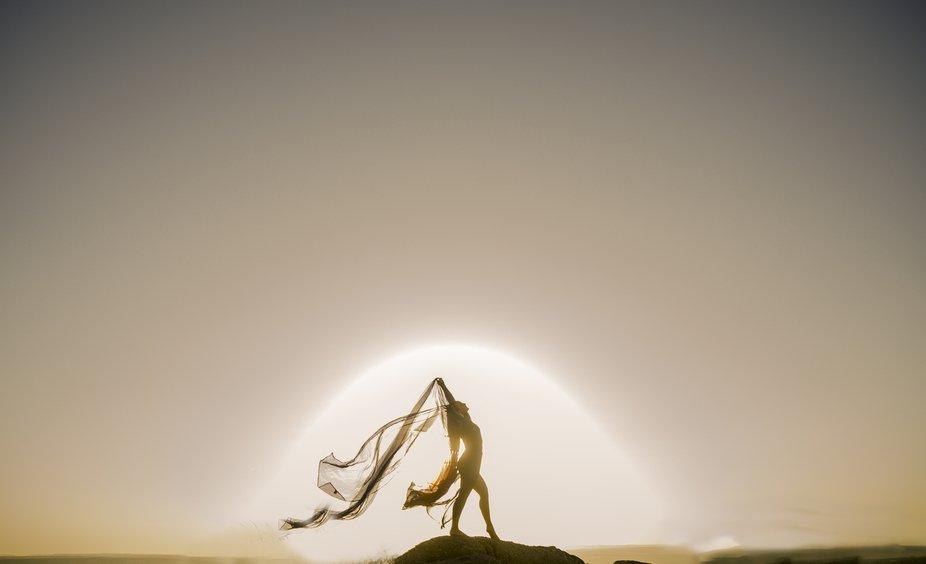 Natalia in the sun