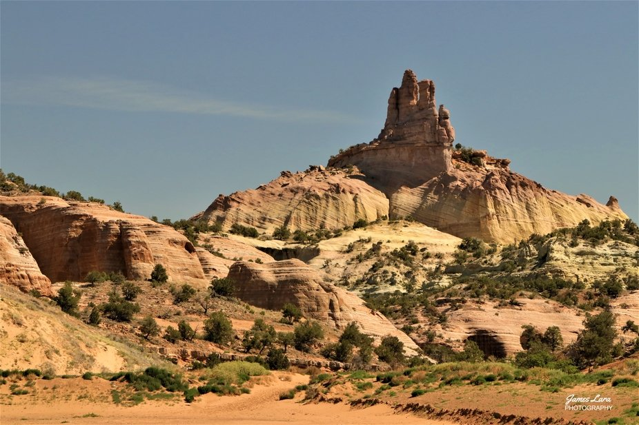 During the 19th and early 20th Century this sandstone mountain top was used as a navigational aid...