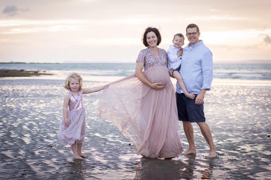 Beautiful light, beautiful family