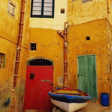 Xlendi Boat Houses