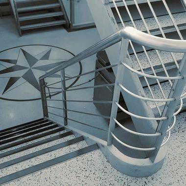 Gozo Ferry Staircase