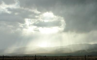 Sun Rays Through Clouds 1
