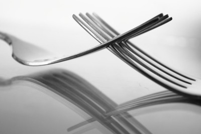 Forks 1 (Monochrome)