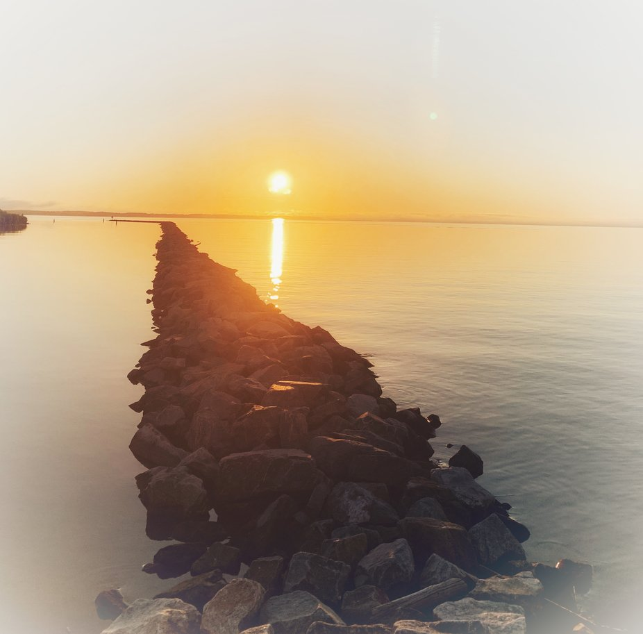 Sunrise on the Chester River