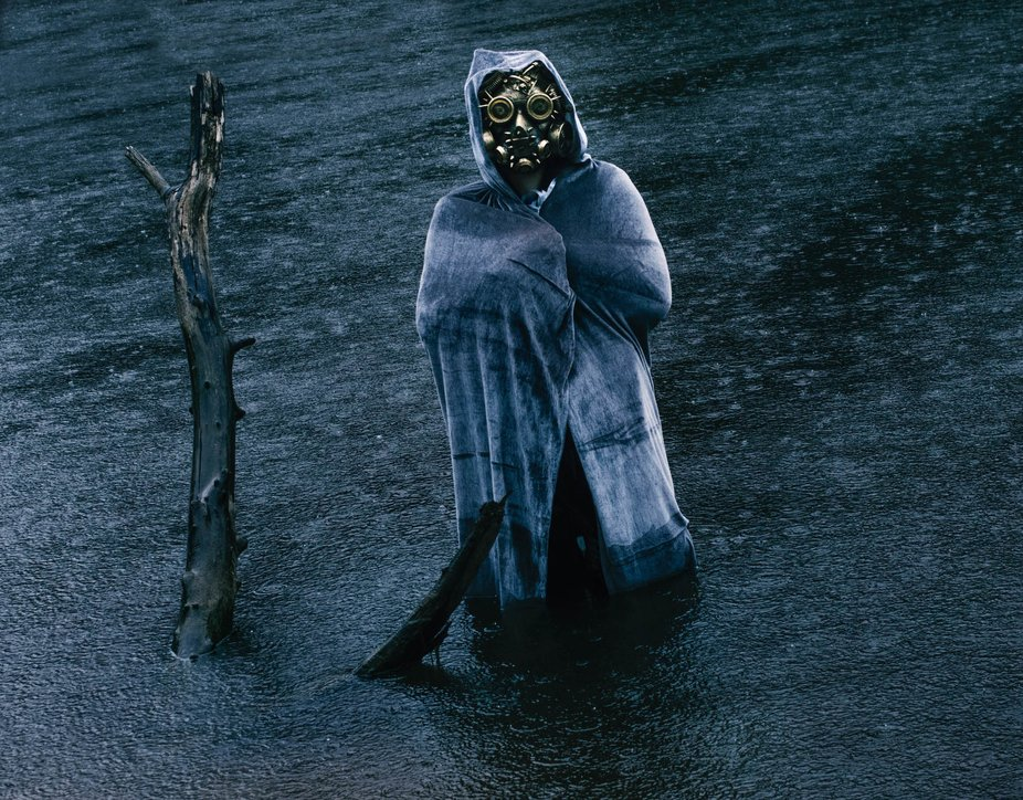 He was lost at sea and drowned. Now he haunts the lake of lost souls.
