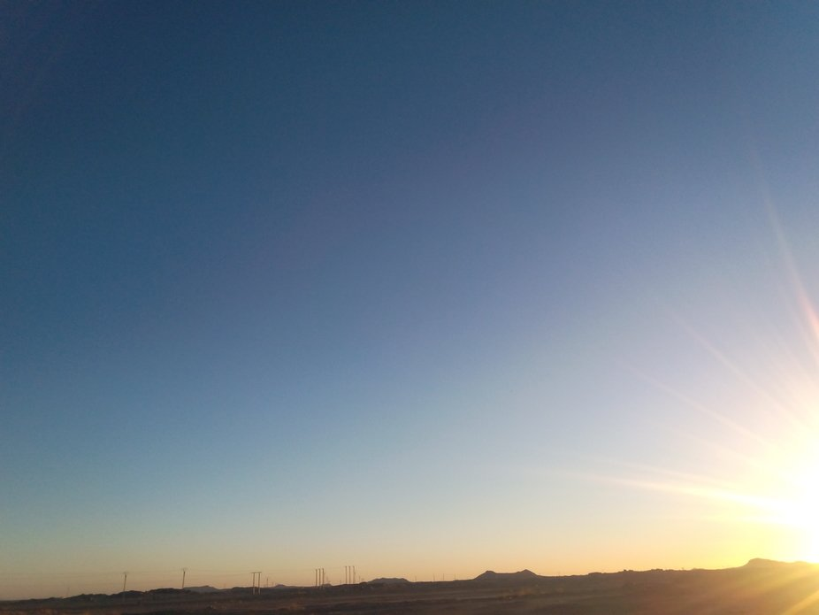 sunrise frome tamenghasset algeria