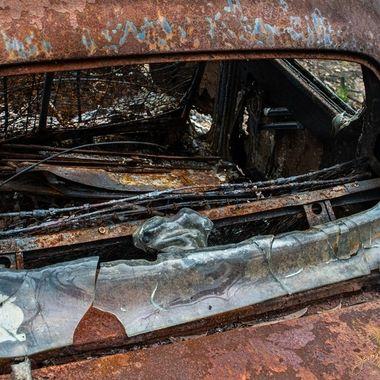 Highway to Hell Album  #18 - 2020 Australian Bushfires - Hot enough to melt glass