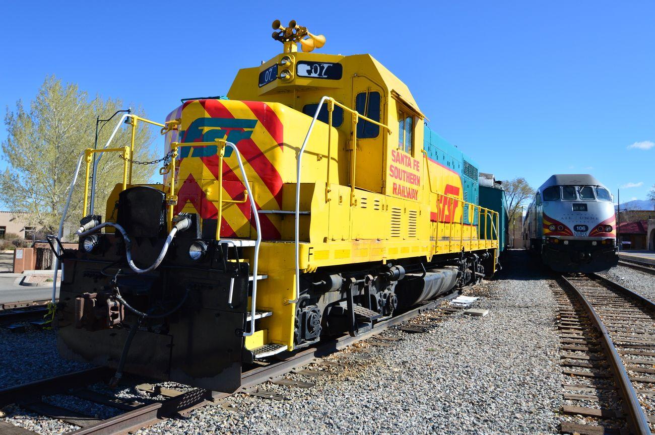 Sante Fe Railroad Yard