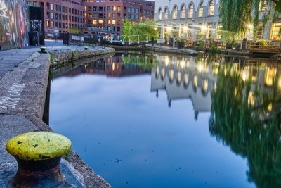 Regents Canal By Camden Lock