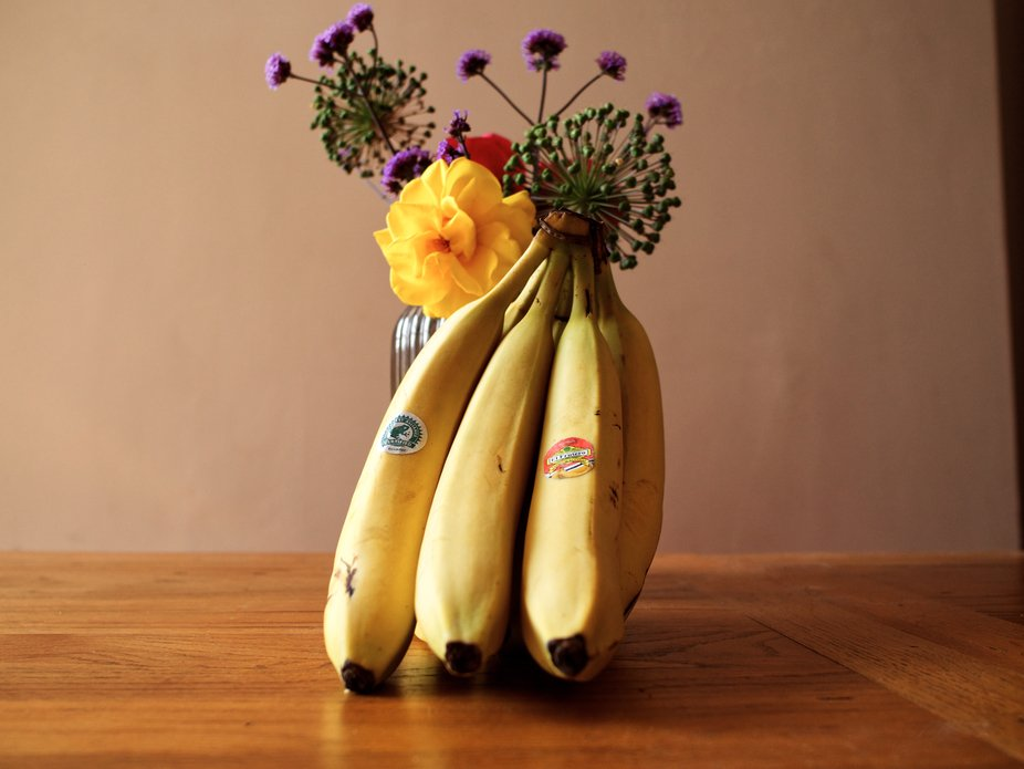 The banana bouquet