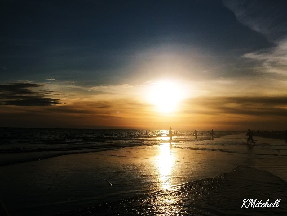 Beautiful Florida sunset this evening!