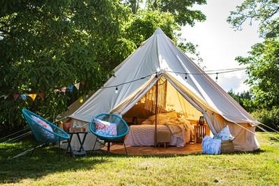 Tenting in Luxury