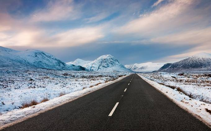 Long Road in to the Glen by flatfoot471 - The Sky Above Photo Contest
