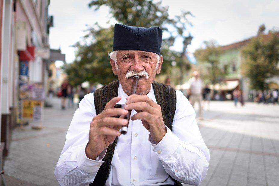 Serbian folk musician