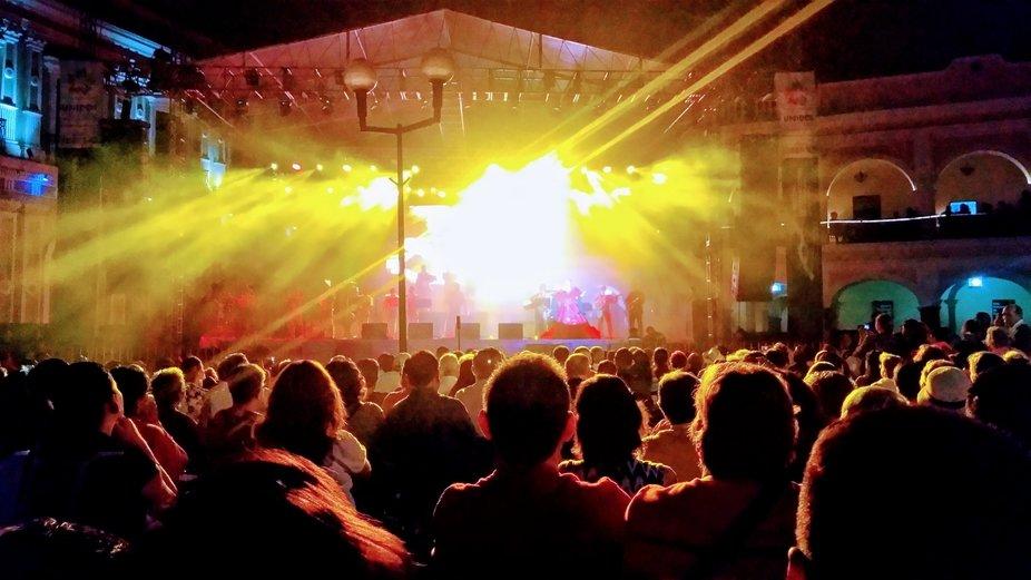 Festival Volcán Fest en Coloma México.