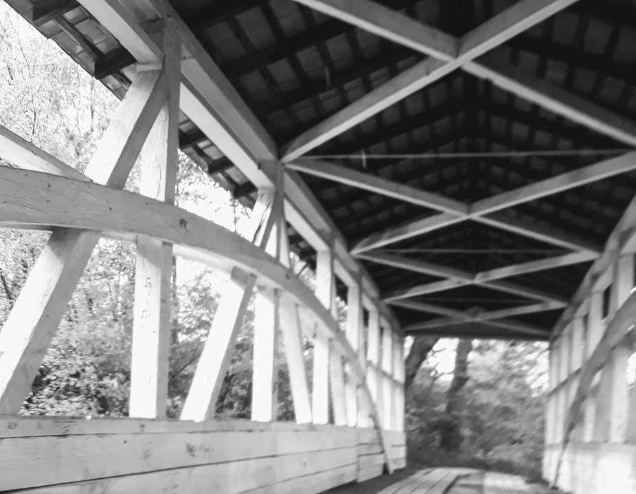 He Allegheny Mountains of PA have many covered bridges to attest to it's history and thi...