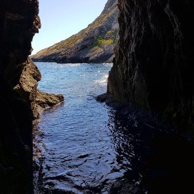 Sunken caves
