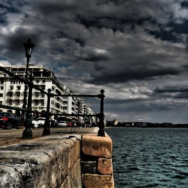 Thessaloniki's stunning seaside promenade is one of the city's most famous and popular spots, which lies in the shore of the Thermaic Gulf and covers a distance of about 5 kilometres from the port to the Music Hall.