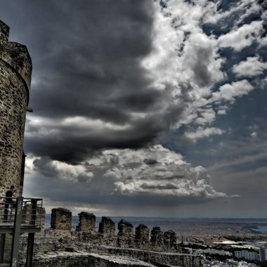 """The """"Castles of Thessaloniki"""" is a complex of forts, towers and walls that were constructed over a period of many centuries to protect the city."""
