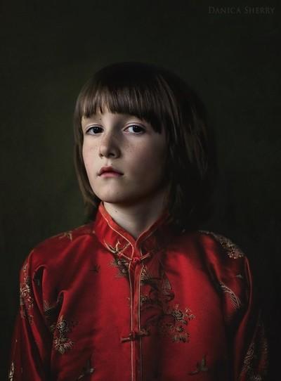 Boy in Red III