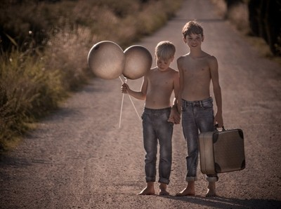 between the dream of childhood and the journey of life -1