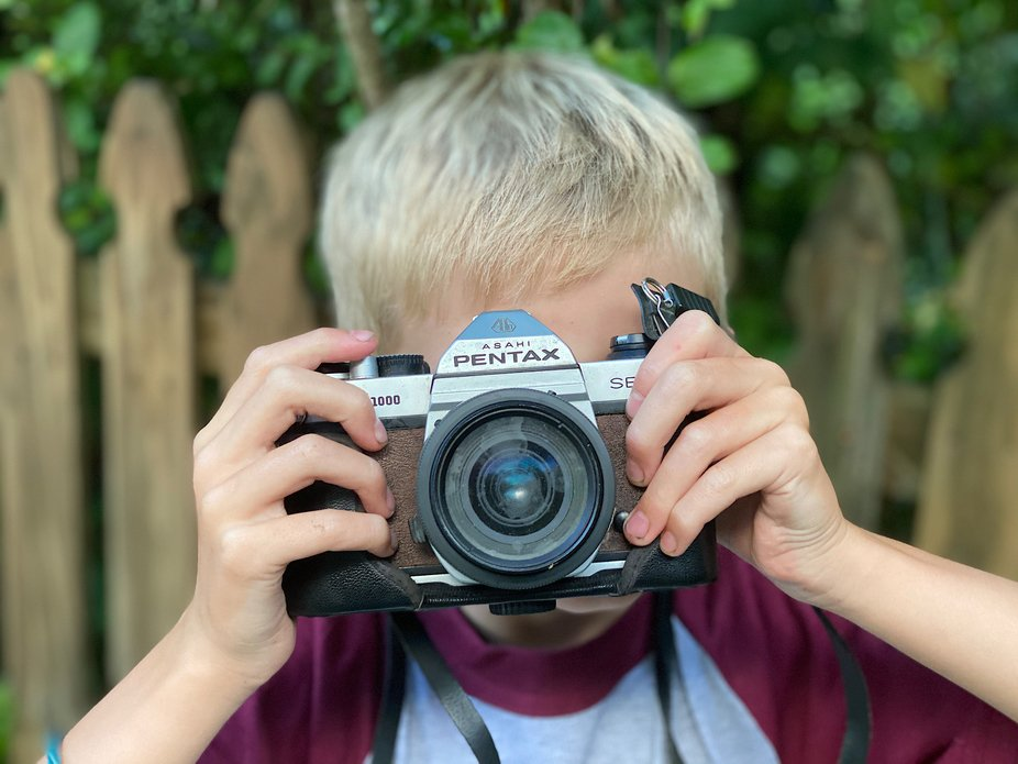 My Grandson and My Pentax