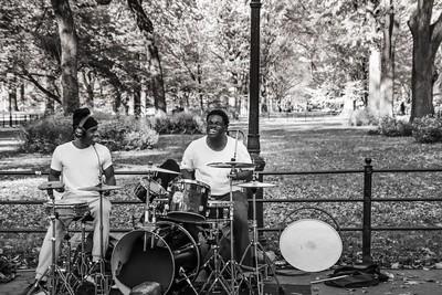 Loving his Drums