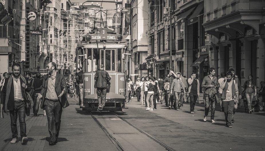 İstiklal Cd.  Beyoğlu/İstanbul  Turki
