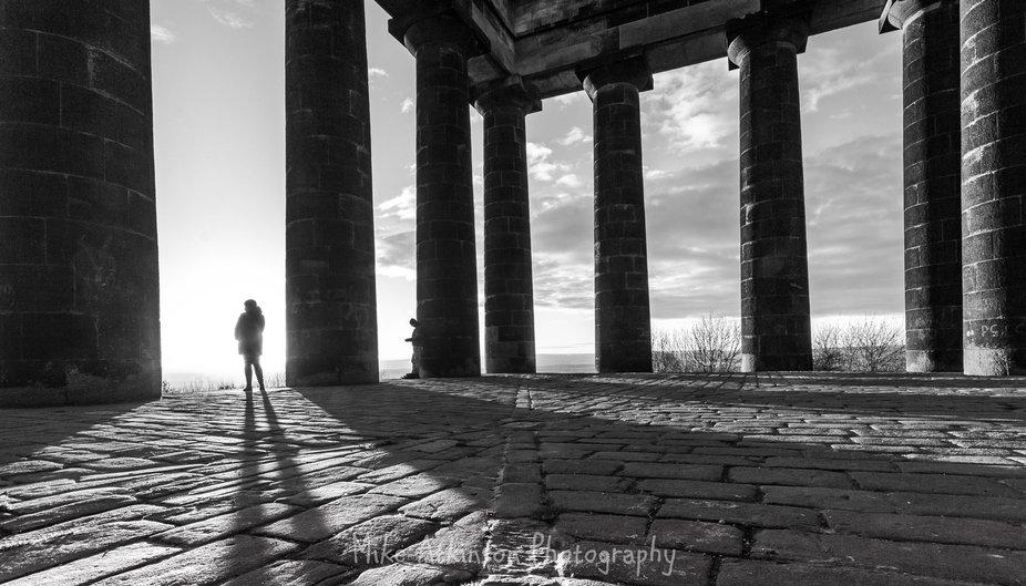 Penshaw Monument, Penshaw, Tyne & Wear, England taken on 02/01/2017.