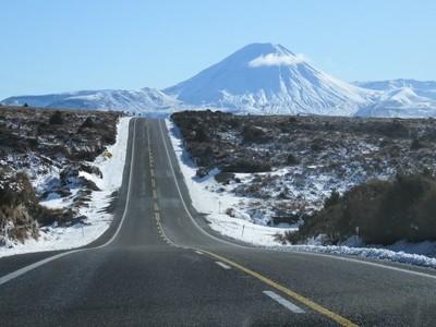 Running Towards a Mountain