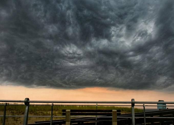 a storm is brewing, Sea Girt NJ