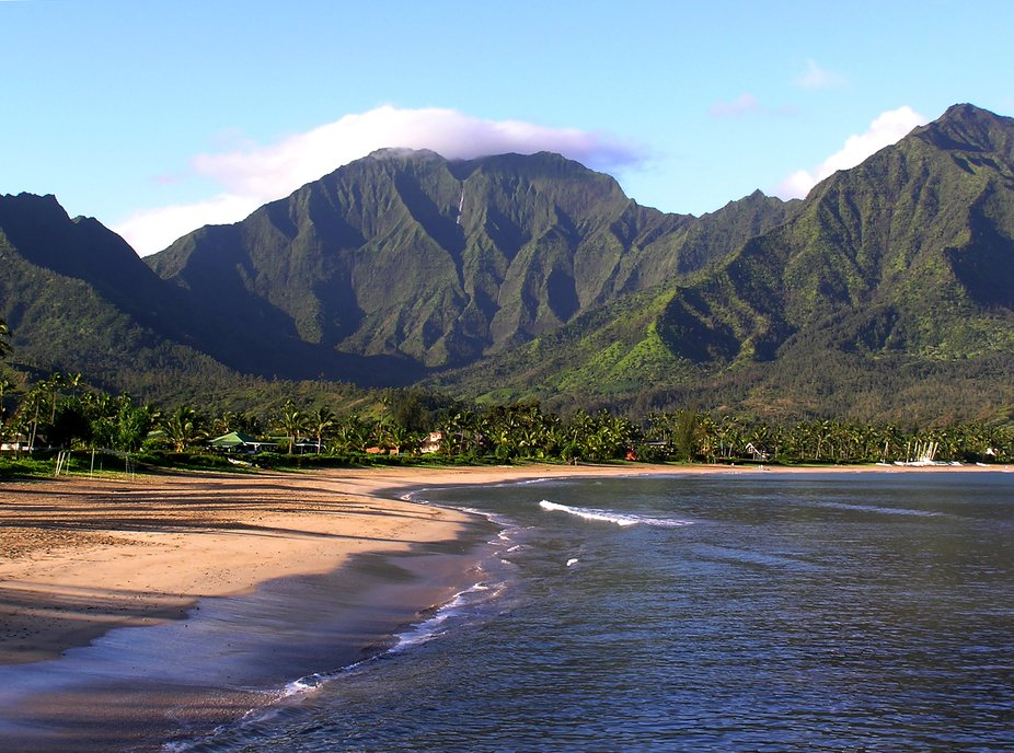 I gathered this image of Hanalel Beach Park while visiting the island of Kaui Hawaii in June of 2...