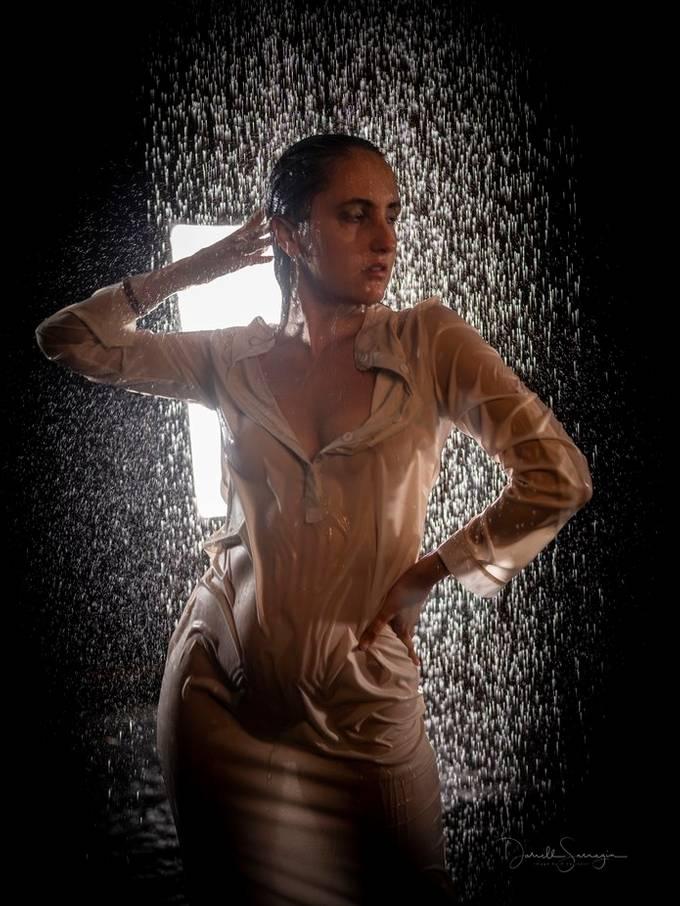 Studio shoot at FD studios in LA. the rain room