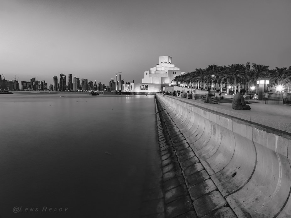 One of my short listed images I favor during my assignment in Qatar. Have always revered the arch...