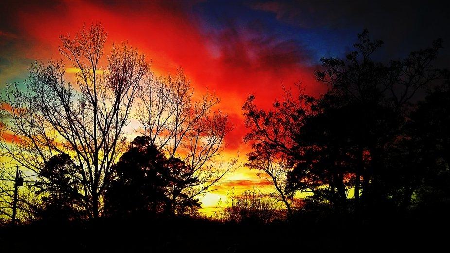 A beautiful Sunset that I photoed.