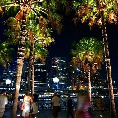Post performance outside the famed Sydney Opera House!