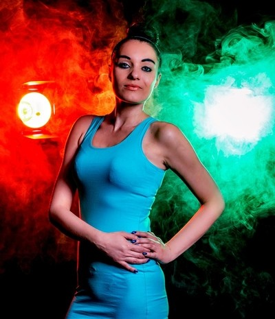 Agnieszka - sesja z dymem