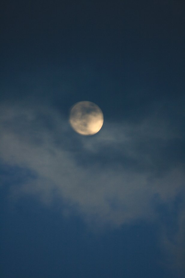 it was a night of the full moon.