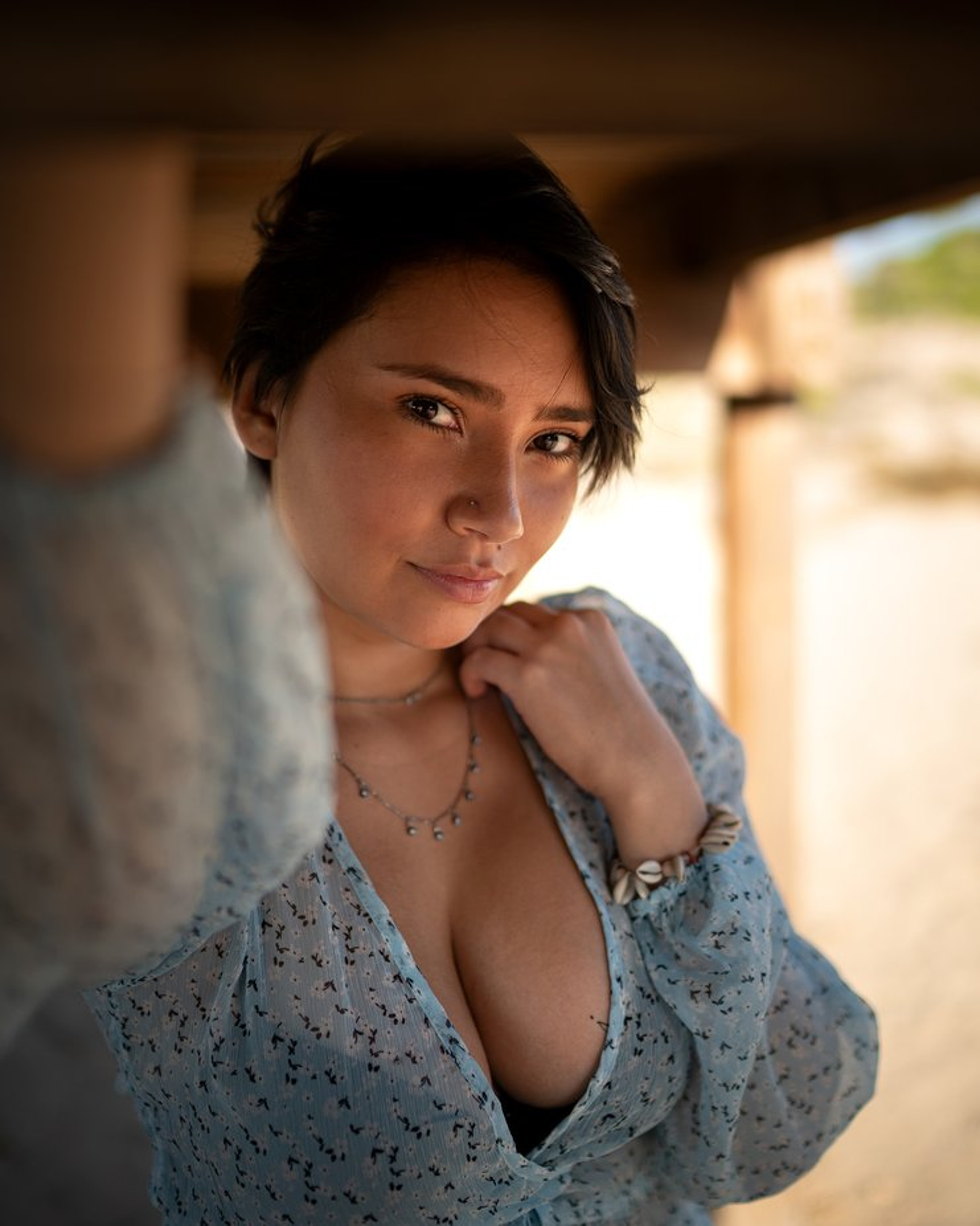 Colombian sweetheart: Natalia.