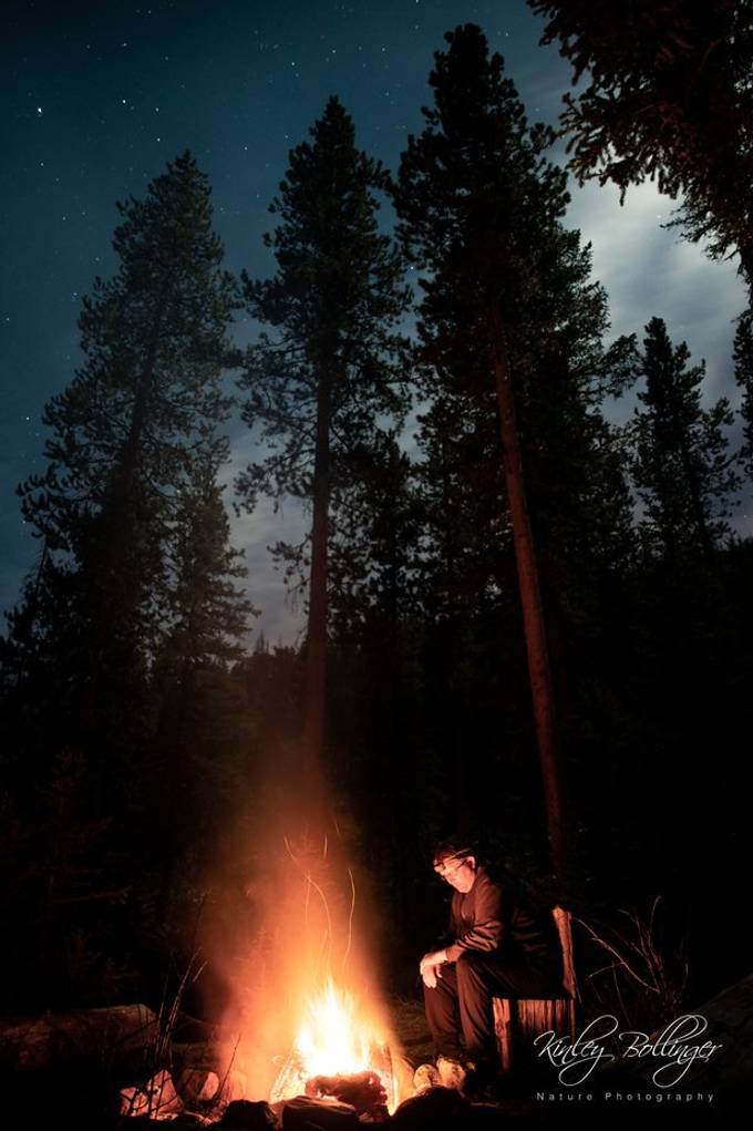 Campfires are one of my all time favorite things.  To me, they mean time in nature, yummy smores, and great memories with friends and family.