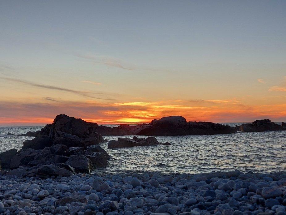 Taken at Red Rock Beach, Newfoundland