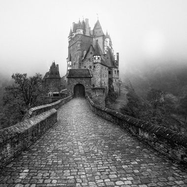 Eltz Castle is a medieval castle nestled in the hills above the Moselle River between Koblenz and Trier, Germany. It is still owned by a branch of the same family that lived there in the 12th century, 33 generations ago - Wikipedia