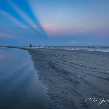 Sunset on Folly Beach